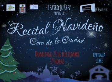 Presentarán Recital Navideño con el Coro de la Ciudad, en la capital oaxaqueña