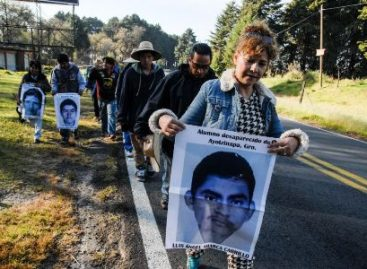 Solicita CNDH medidas cautelares a favor de familiares de normalistas desaparecidos