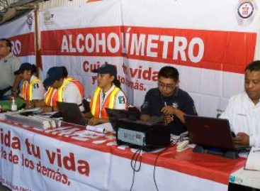 Aseguran a 16 conductores en operativo Alcoholímetro por conducir en estado de ebriedad