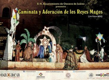 """Promueve y rescata municipio de Oaxaca tradiciones; II """"Caminata y Adoración de los Reyes Magos"""""""