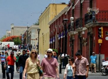 Registra Oaxaca de Juárez importante afluencia turística durante periodo vacacional decembrino