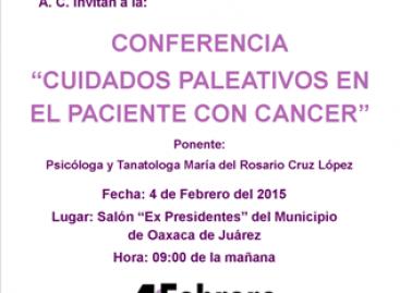 Conmemora Municipio de Oaxaca de Juárez Día Internacional de Lucha Contra el Cáncer