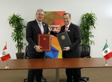Avanzan México y Perú en la consolidación de embajadas compartidas