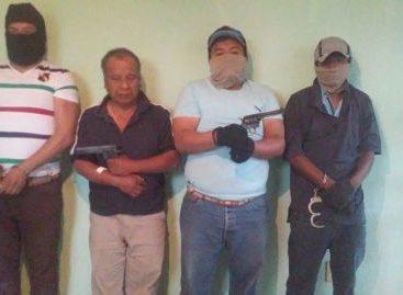 Aprehenden a banda de asaltantes que operaba en Valles Centrales y Sierra Sur de Oaxaca