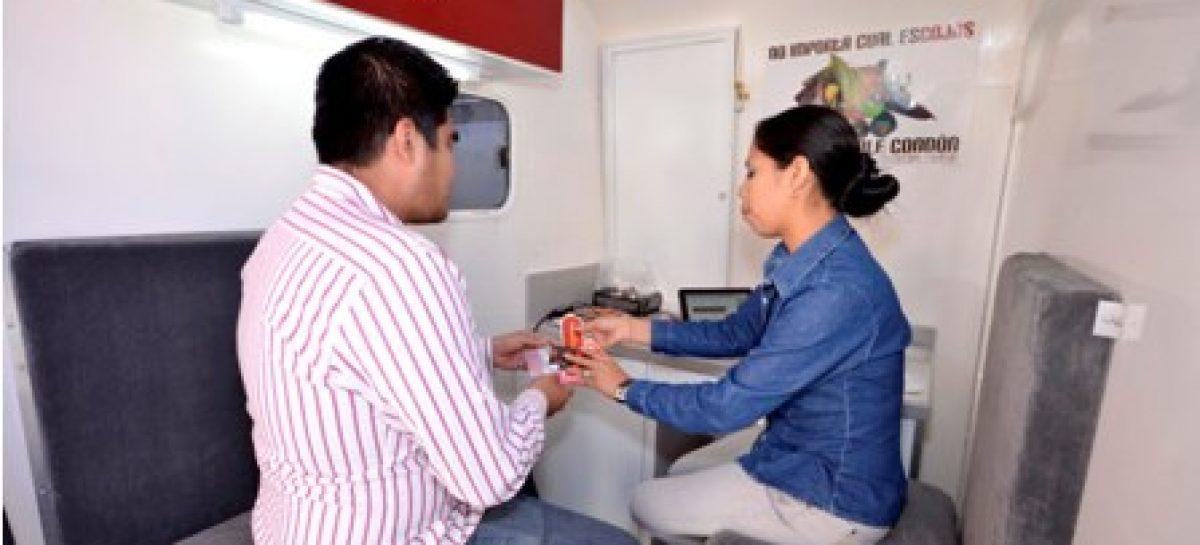 Implementan Ayuntamiento capitalino y COESIDA unidad móvil itinerante para detección oportuna de VIH/SIDA