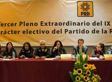 Con 81.1 por ciento, consejeros nacionales del PRD aprueban lista de candidatos y candidatas plurinominales