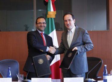 Firman convenio AMEXCID y CONEVAL para impulsar la cooperación internacional