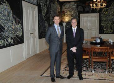 Reconoce Dinamarca vigor de sus vínculos con México; Culmina canciller visita de trabajo