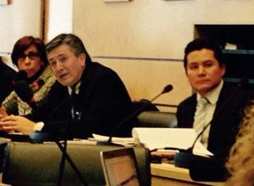 Constituye la desaparición un serio problema en México, reconoce el ombudsman nacional ante la ONU