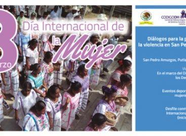 Realiza Defensoría jornadas para prevenir la violencia en San Pedro Amuzgos, Oaxaca