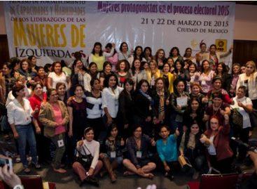 Las mujeres de izquierda tenemos que dar la lucha por alcanzar un mejor país: García Medina
