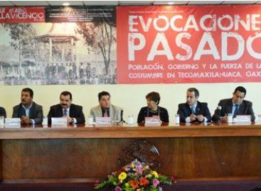 """Presentan """"Evocaciones del pasado"""" de Josué Mario Villavicencio, en Congreso de Oaxaca"""