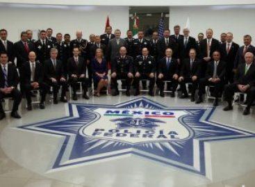 Realizan Primera Reunión de Mandos Policiales Federales de Canadá, Estados Unidos y México