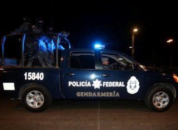 Liberan policías federales a persona secuestrada y aseguran armas y droga en Tamaulipas