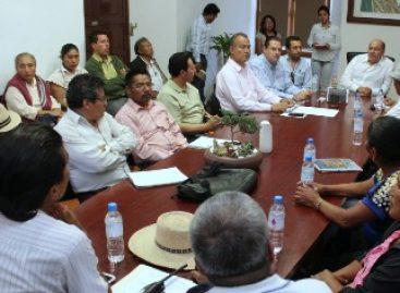 Reciben autoridades a comisión política estatal del FPR; reitera su disposición al diálogo permanente