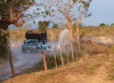 Controla Pemex derrame de gasolina provocado por toma clandestina en Guichicovi, Oaxaca