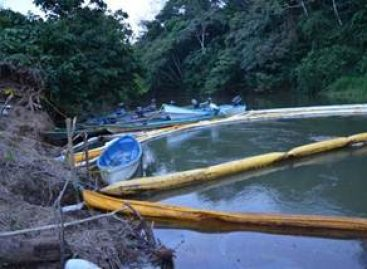 Descarta Pemex afectación en el rio Coatzacoalcos por derrame de crudo en Oaxaca