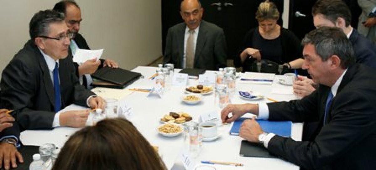 Acuerdan funcionarios de la UE y la CNDH explorar mecanismos de cooperación