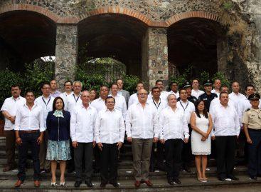 Celebran Primera Reunión de la Conferencia Nacional de Secretarios de Seguridad Pública, Región Centro