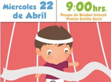 """Festival de la Velocidad Infantil en el parque """"Vinicio Castilla Soria"""", en Oaxaca"""