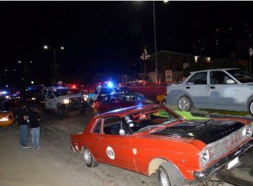 Refuerza SSPO operativo contra arrancones en la ciudad de Oaxaca; Seis vehículos asegurados