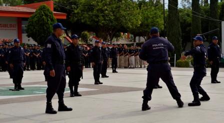 Policías municipales de la Cuenca y la Costa