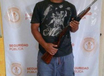 En Oaxaca, tres detenidos por violación a la Ley Federal de Armas de Fuego y Explosivos