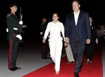 Llega presidente de Panamá a Cancún para participar en el Foro Económico Mundial