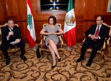Insta canciller mexicano a profundizar las relaciones Libano-México