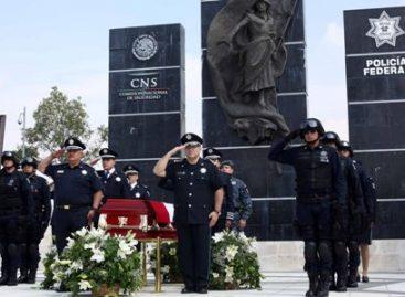 Policía Federal caído en Michoacán es un héroe mexicano al servicio de la patria: Galindo Ceballos