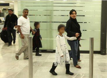 Con apoyo de la Cancillería, ciudadana mexicana y su familia abandonan Yemen y arriban al DF