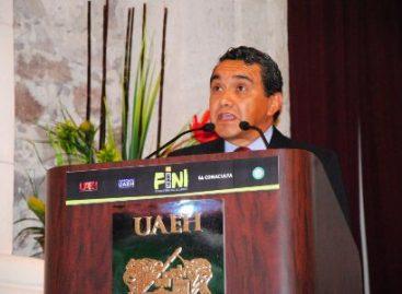 Llama rector de la UAEH a construir un mundo más justo; inaugura FINI2015
