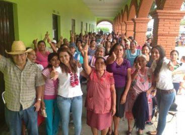 Llevaremos a Gabriela Olvera al triunfo para que sea nuestra voz en el Congreso: mujeres de Quiane