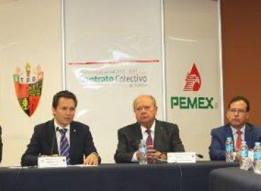 Instalan Pemex y el STPRM mesa de negociación para la revisión del Contrato Colectivo de Trabajo 2015-2017