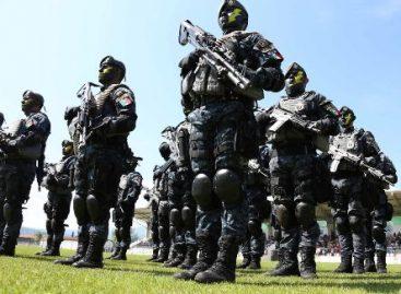 Culmina División de Gendarmería de la Policía Federal cursos de capacitación en el Edomex