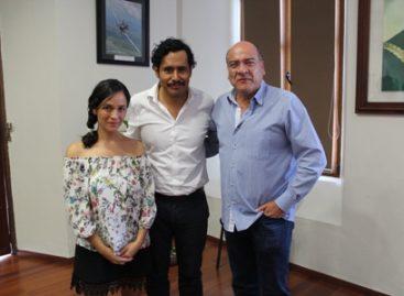 Reconoce Javier Villacaña el talento del cineasta Rigoberto Perezcano