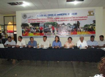 Evalúan campaña de combate al dengue y chikungunya en Juchitán, Oaxaca