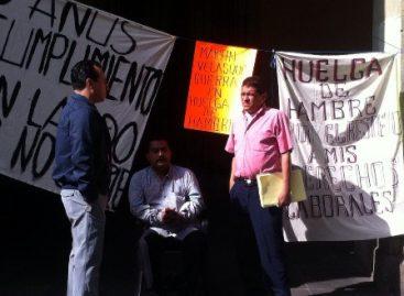 Atiende Segego caso de ex trabajador municipal en huelga de hambre por despido