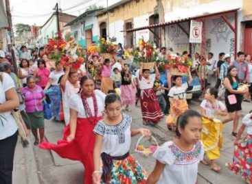Festejan a San Juan Bautista, santo patrono de Cuicatlan, Oaxaca
