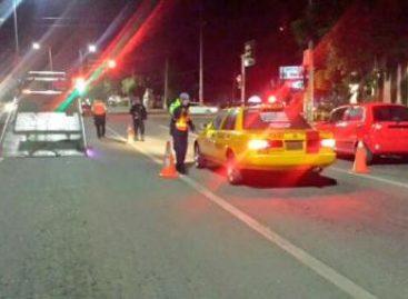 Al inicio del operativo Alcoholímetro, 16 conductores en estado de ebriedad detenidos