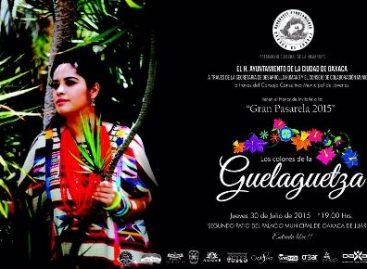 """Realizarán pasarela """"Los colores de la Guelaguetza"""" en el Palacio Municipal de Oaxaca de Juárez"""