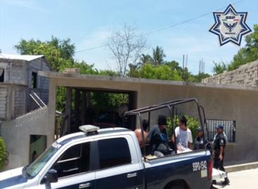 Detenidas dos personas con marihuana durante un cateo en Pinotepa Nacional, Oaxaca