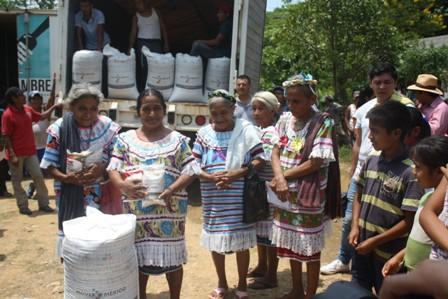 Beneficiados los estados de Guerrero, Oaxaca y Chiapas