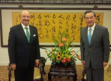 Fortalecen México-China diálogo político y Asociación Estratégica Integral