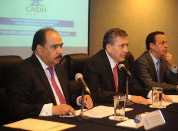 """Presenta la CNDH documento """"Estado de la Investigación del Caso Iguala""""; hace 32 observaciones"""