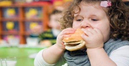 Riesgo la obesidad infantil