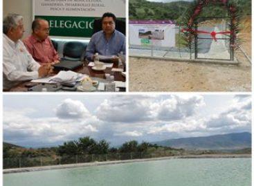Ha invertido Gobierno Federal 413 mdp en obras para la conservación de agua en Oaxaca