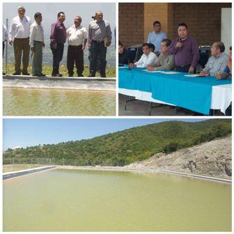 Inauguran obras en Huayapam