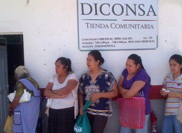 Cumple tienda comunitaria Diconsa 32 años de abastecer a población de Chiltoyac, Veracruz