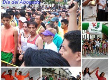 Congrega a más de dos mil personas XXIII Carrera del Día del Abogado en Oaxaca